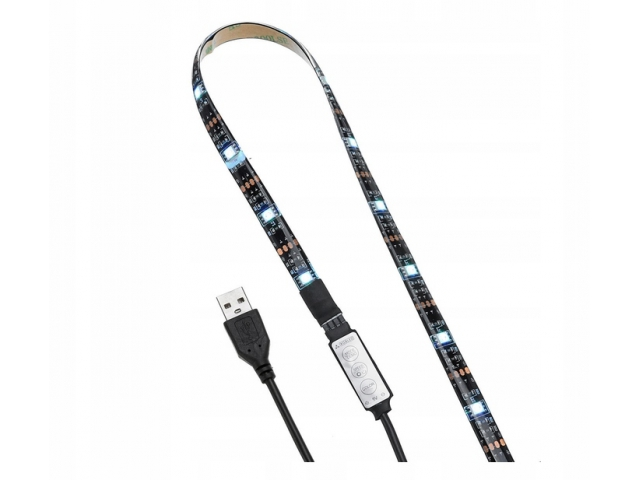 Fedus Bluetooth RGB LED pásek za televizi 2m