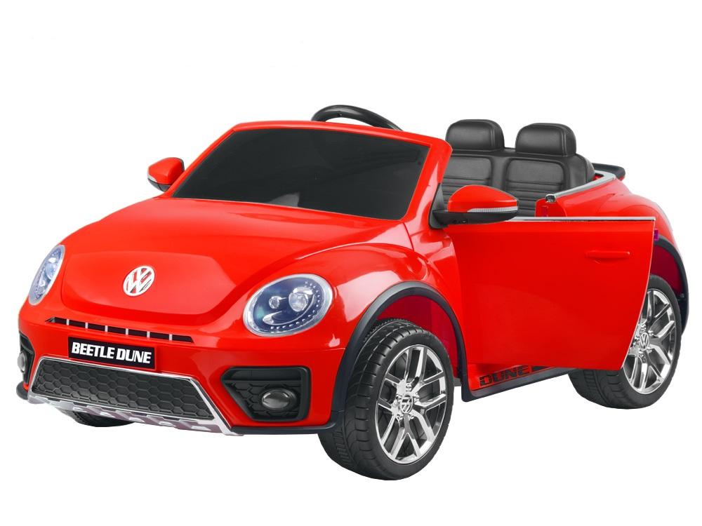 Joko PA0210 CZ Elektrické autíčko Volkswagen Beetle 2,4 GHz červené