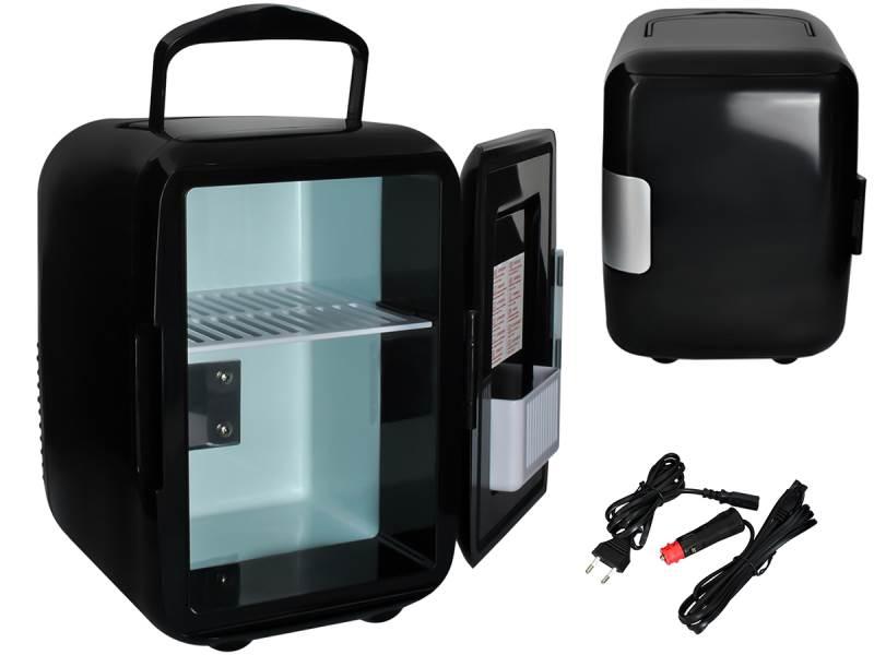 Malatec 5794 Prenosná chladnička 4L čierna