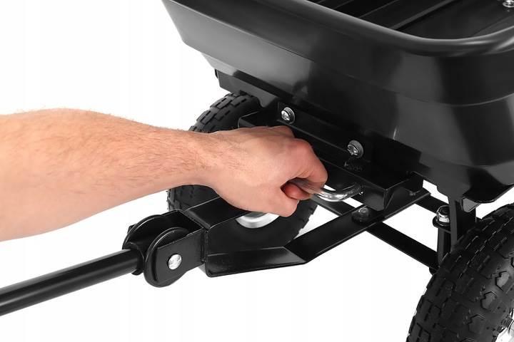 Malatec 9043 Zahradní přepravní vozík výklopný 350 Kg černá5