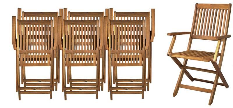 Malatec 5360 Zahradní nábytek hnědá5