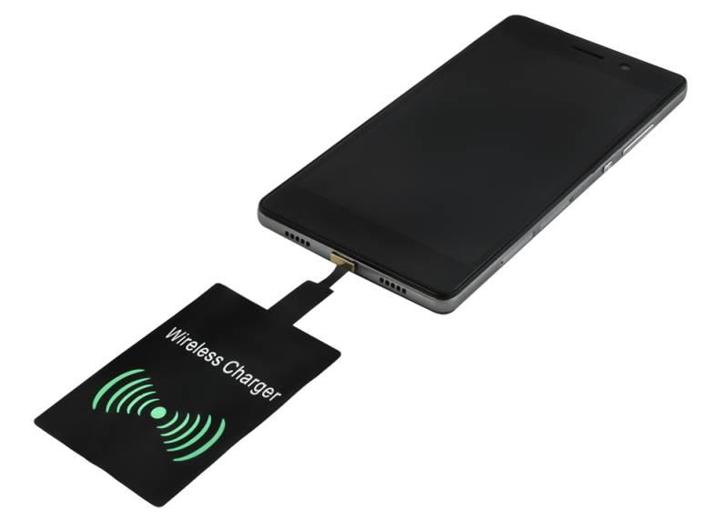 ISO 6125 Qi Bezdrátová nabíječka 5A - Wireless Charging neoriginální3