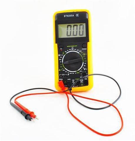 ISO Multimeter DT9205A