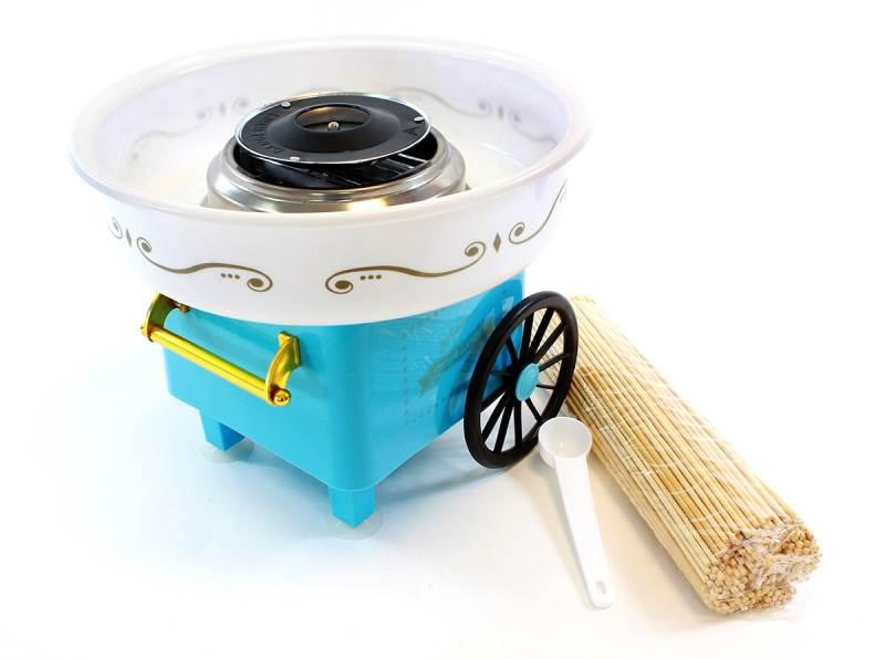 APT AG137C Výrobník cukrovej vaty modrá