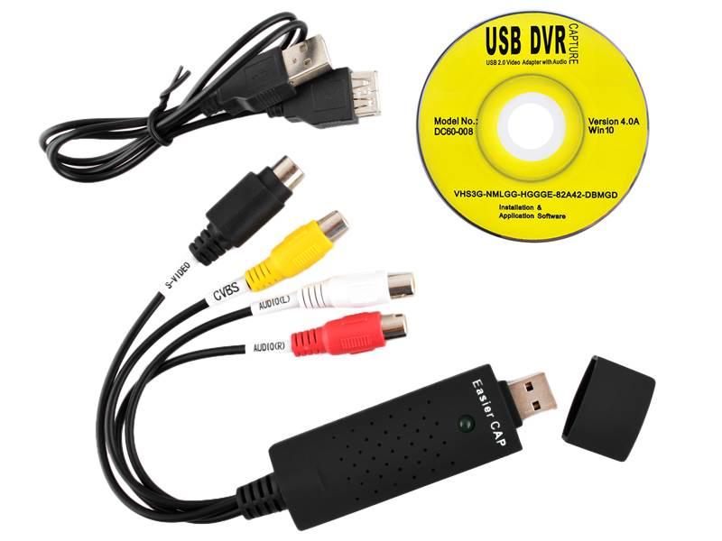 ISO 85 UVC USB video grabber Win7/Win8/Win10