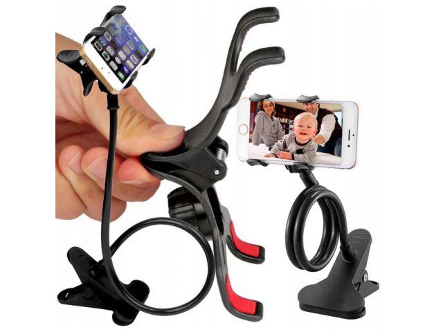 Pronett XA034 Flexibilný držiak na mobil 65 cm čierny