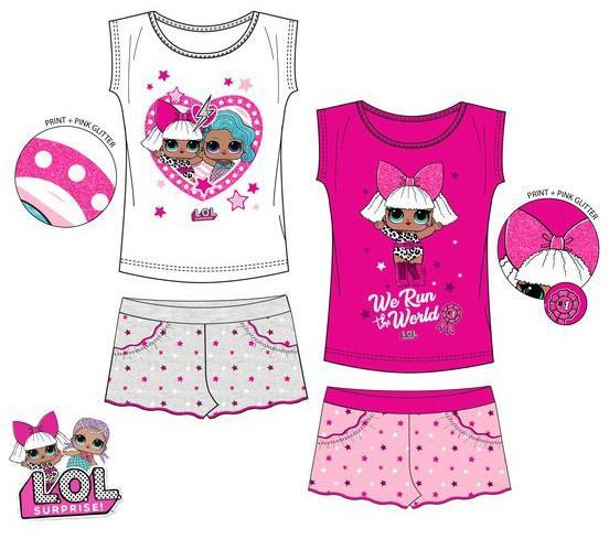 Javoli Dětské pyžamo L.O.L. vel. 140 růžové