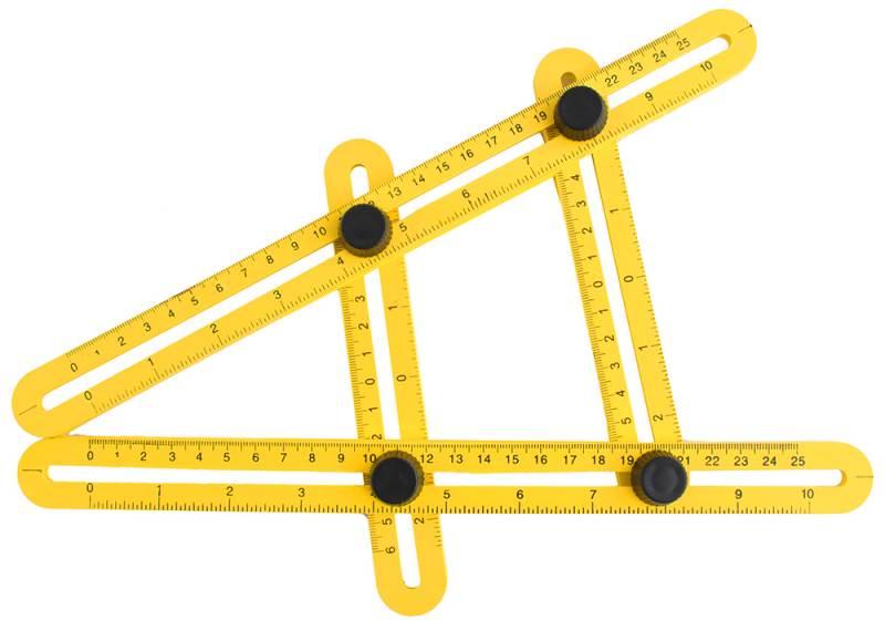 ISO 5055 Mutifunkční šablóna meter - uholník