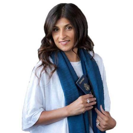 GFT Šátek s kapsou modrá