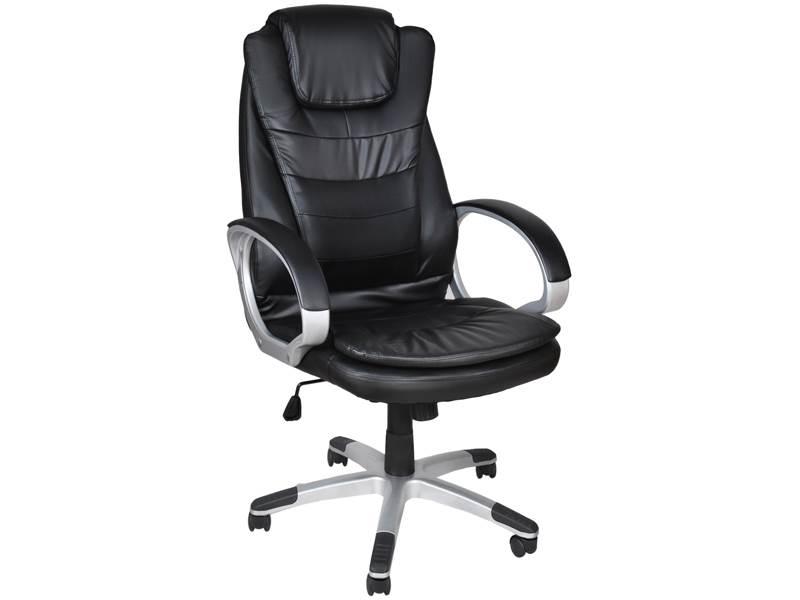 Malatec 2731 Kancelářská židle EKO kůže černá