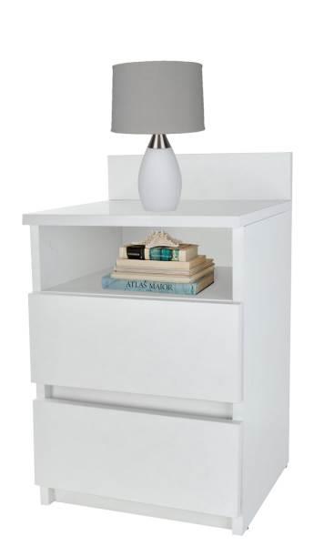 ISO 6393 Noční stolek bílý