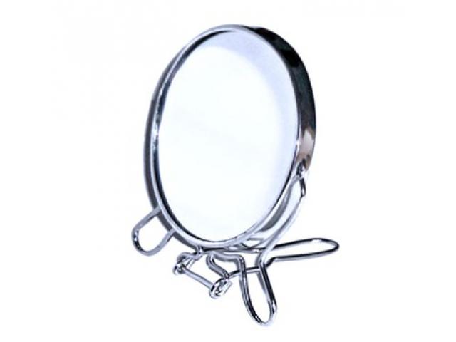 Fedus 5753 Obojstranné zväčšovacie zrkadielko na postavenie 17 cm