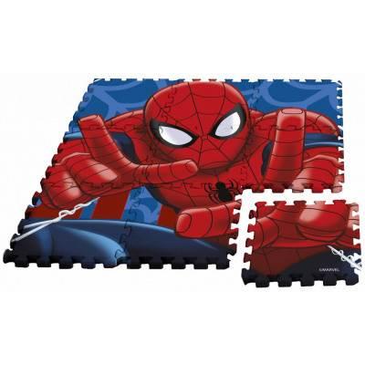 Javoli Pěnové puzzle na zem Spiderman 9 dílů
