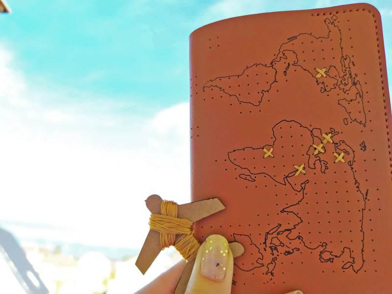 GFT Spomienkové puzdro na cestovný pas - hnedé