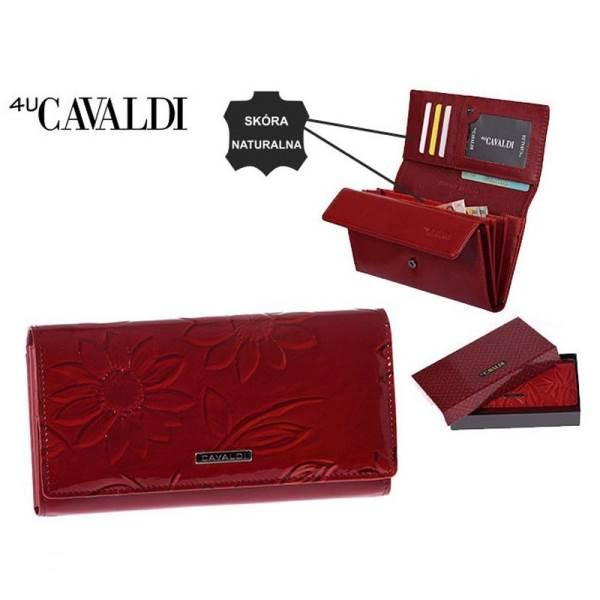 CAVALDI Peněženka dámská červená P879