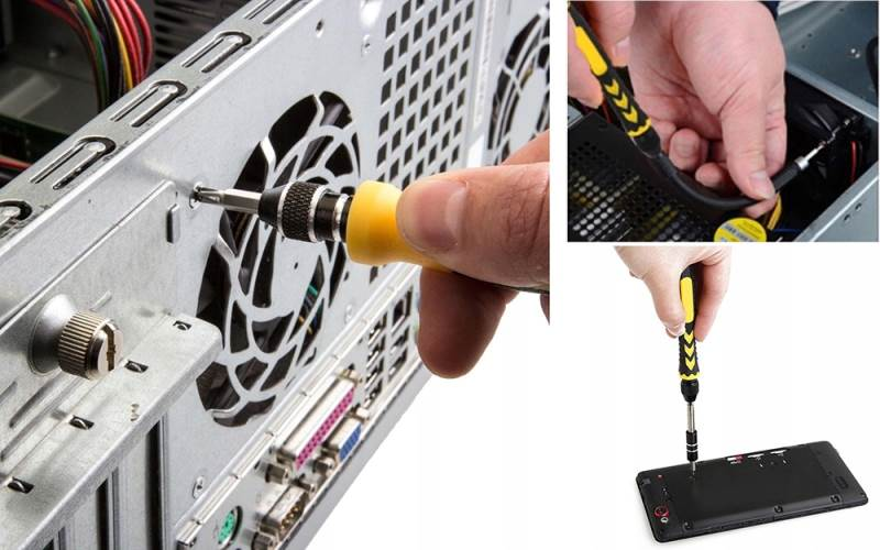 ISO 5760 Sada náradia na opravu mobilných telefónov 38 dielov11