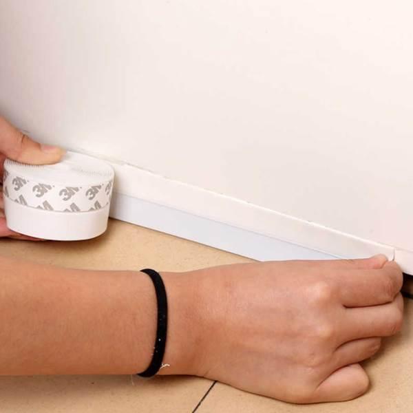 GFT Lišta k dverám 200 cm biela