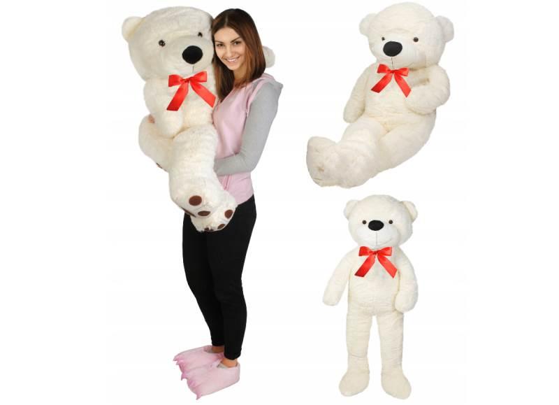 Velký plyšový medvěd bílý 160 cm1
