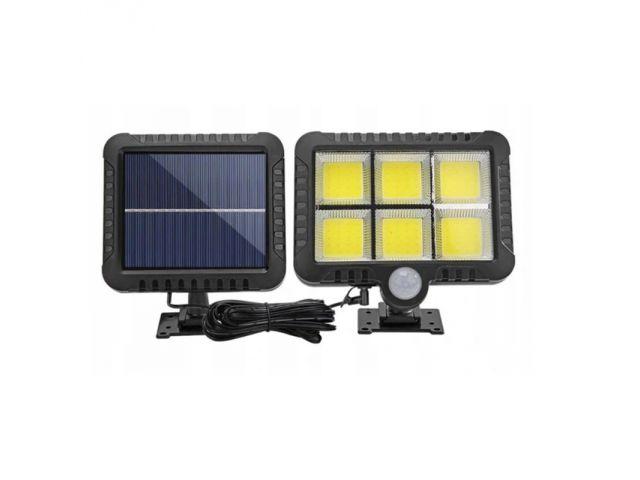 Falcon Solární venkovní 120 LED osvětlení, pohybový senzor