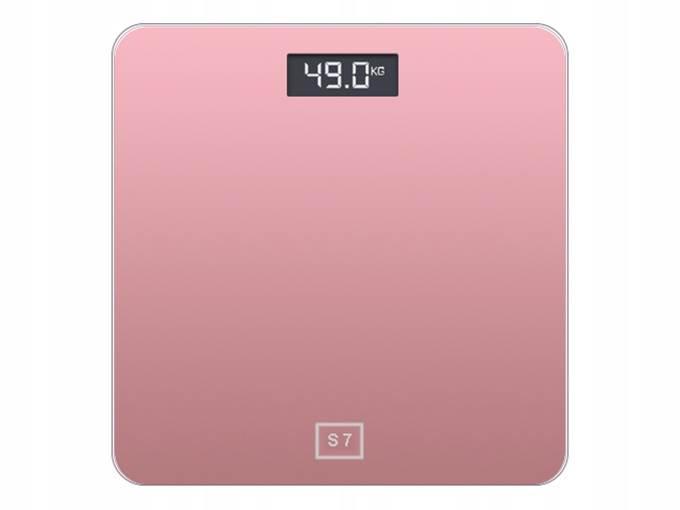 Verk 17097 Digitálna osobná váha sklenená LCD 180kg / 100g biela