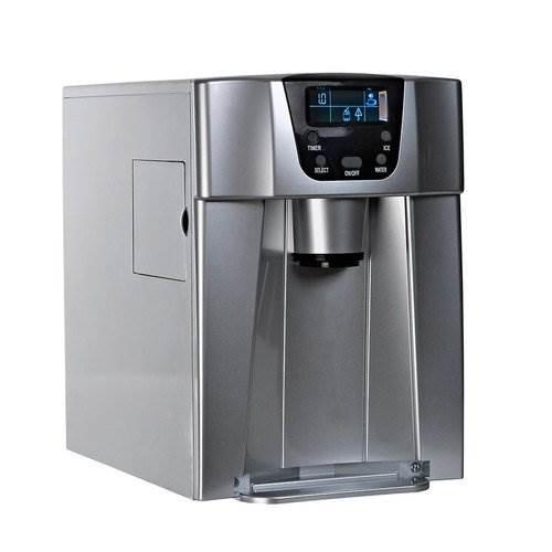 Malatec 9815 Výrobník ledu s dispenzerem vody 12Kg/24h šedý7