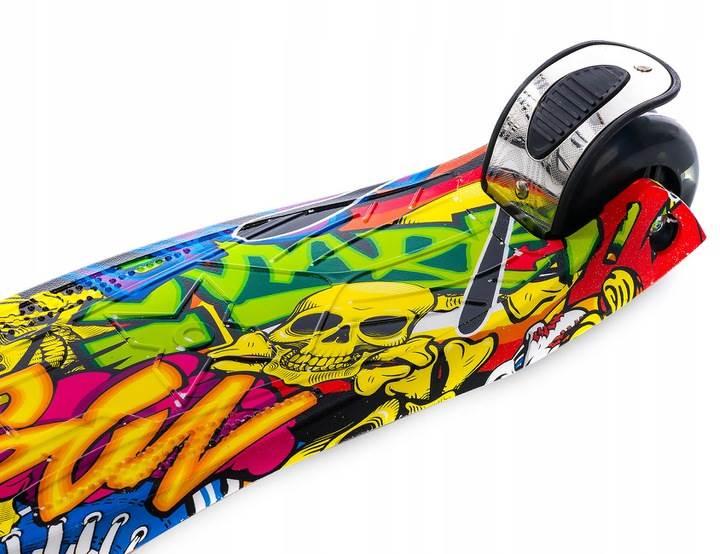 MicMac 18124_GR Hulajnoga tříkolová koloběžka Graffiti6