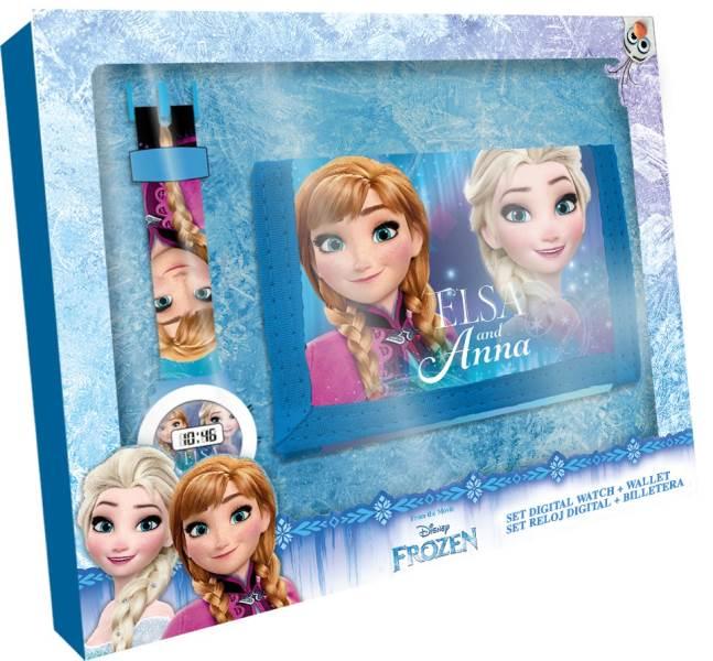 Javoli Darčeková sada Disney Frozen peňaženka s hodinkami