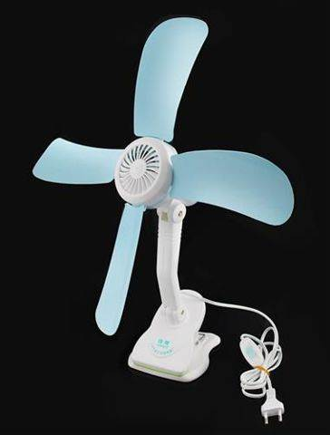 ISO Lopatkový ventilátor Clip
