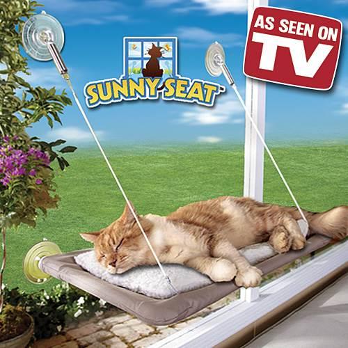 SUNNY SEAT Cat Bed - pelech pre mačky 55x37cm