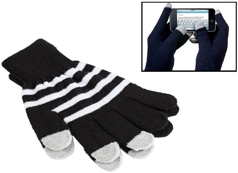 APT Rukavice na ovládanie dotykových displejov čierne