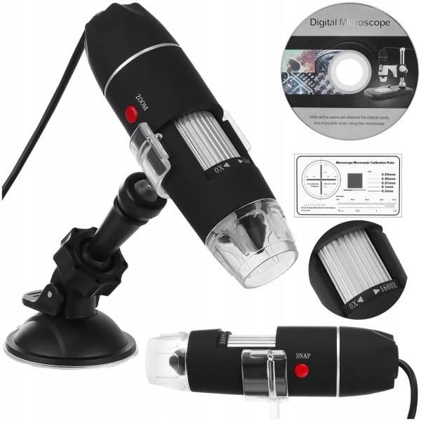 ISO 9295 USB digitálny mikroskop k PC, 50-1600x