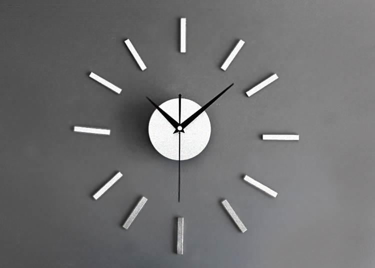 339927fd3 APT Designové 3D nalepovací hodiny 60cm