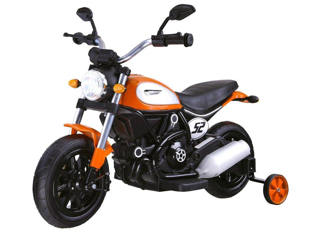 Joko PA0235 PO Elektrická motorka Street Bob oranžová