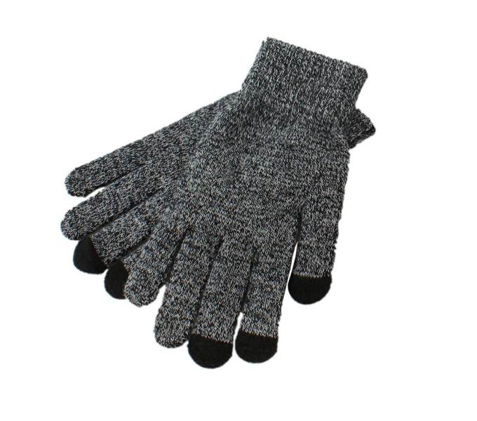 APT Set čiapka nákrčník rukavice sivá melanž3
