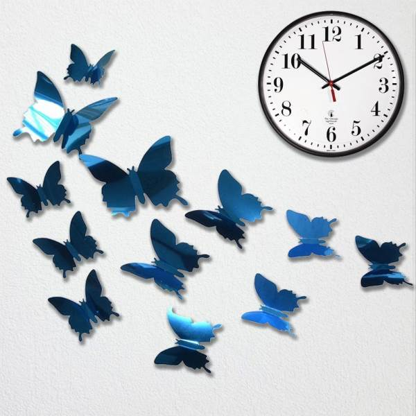 GFT Zrcadlový motýl 12 ks - modrý