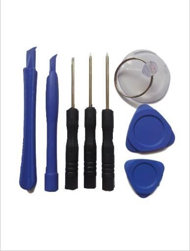 ISO 8105 Sada nástrojov pre opravy mobilných telefónov 8v1