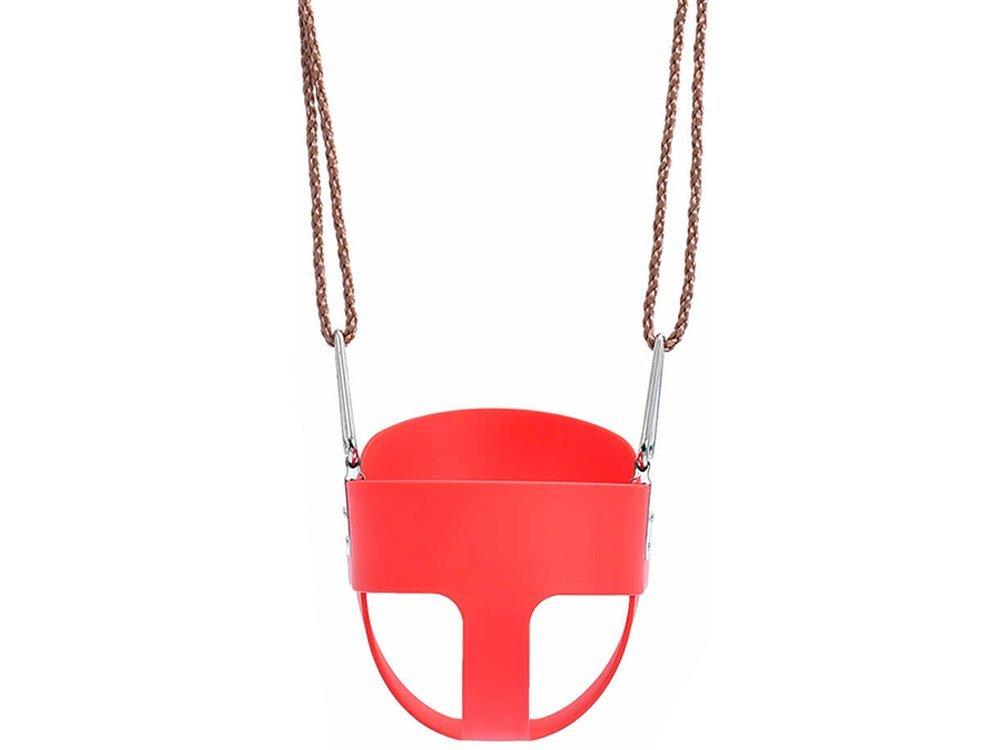 Verk 01532 Dětská houpačka plastová červená
