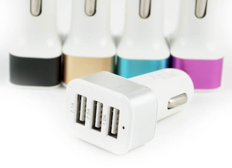 KIK Autonabíječka 3x USB KX9832