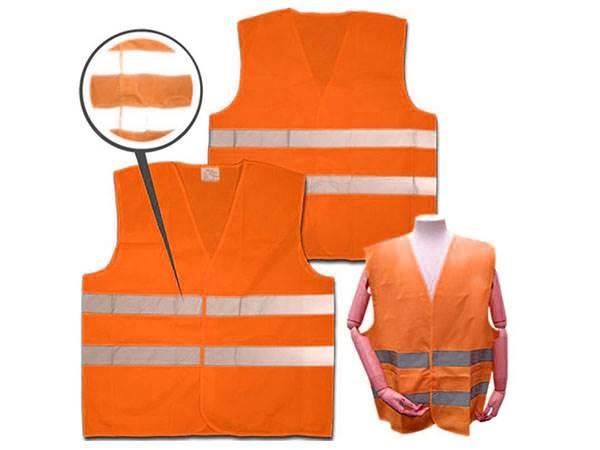 Verk Reflexná vesta oranžová 3XL