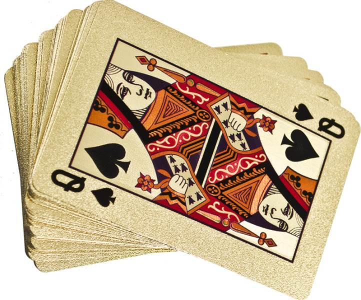 KIK Zlaté hracie karty