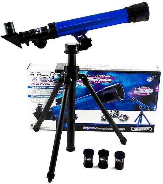 G21 Detský teleskop modrý 50mm