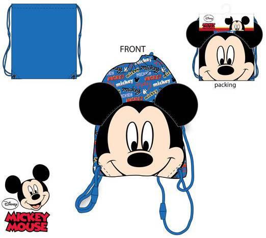 Javoli Detský Vak na chrbát Disney Mickey 37,5 x 31,5 cm modrý