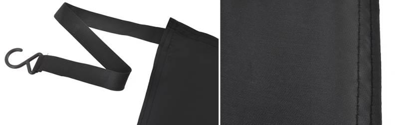 ISO 4565 Textilní clona na čelní sklo 165 x 110 cm3