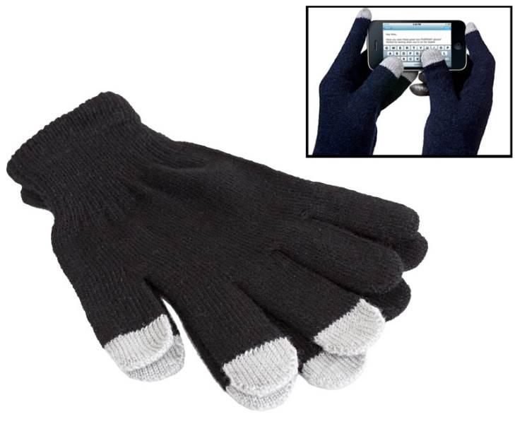 APT Rukavice na ovládanie dotykových displejov čierne I