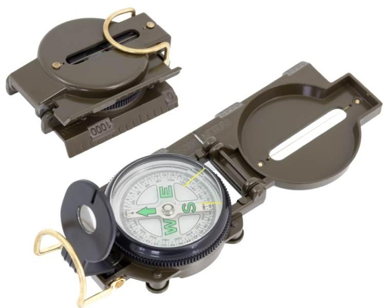ISO 1905 Vojenský kompas