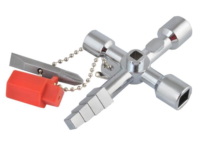 ISO Univerzálny krížový kľúč na rozvodné skrine