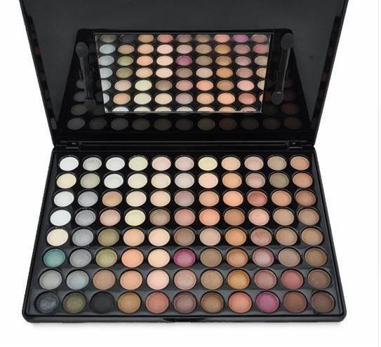 ISO 8956 Profesionální paleta očních stínů 88 barev