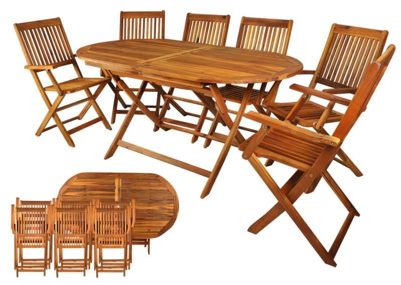 Malatec 5360 Zahradní nábytek hnědá