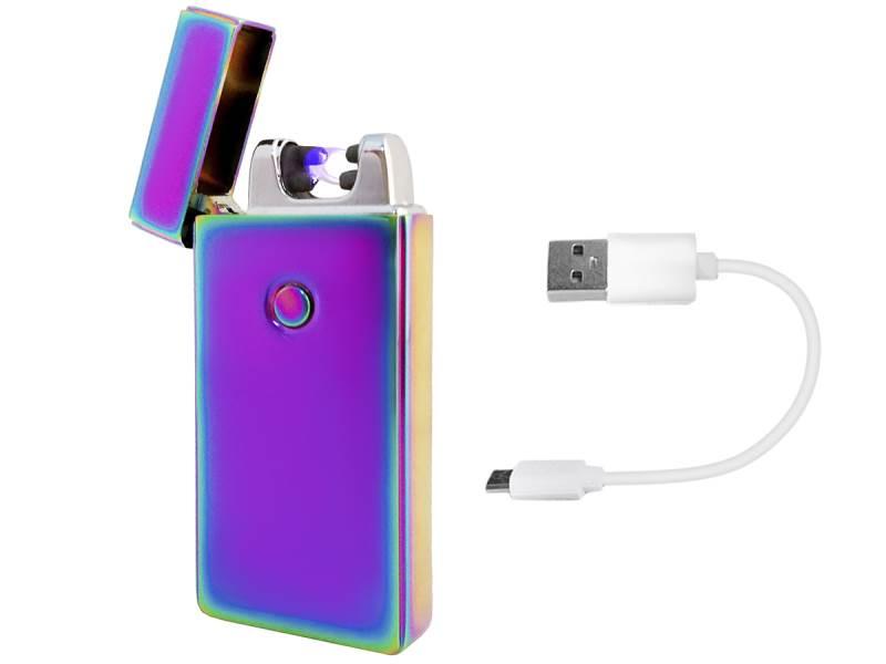 ISO 5058 Elektrický zapaľovač Plazma USB - fialový