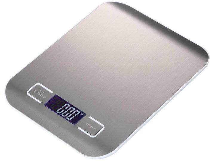 Verk 17028 Kuchyňská váha SF - 2012 1g-5kg nerez